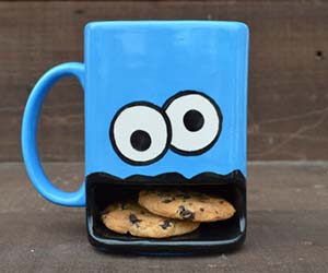 Coffee and cookie mug