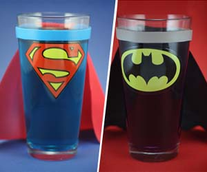 Yetaland super hero glass